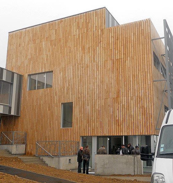 Bardage extérieur Université Rennes Beaulieu-2