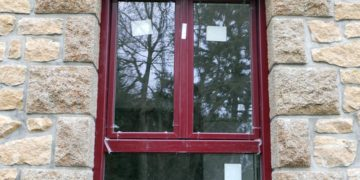 Pose d'une fenêtre