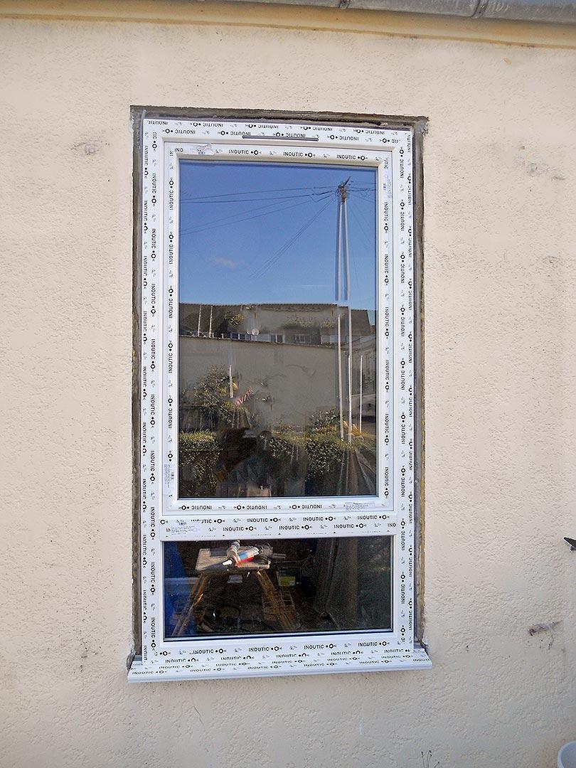 Nouvelle fenêtre vue de l'extérieure