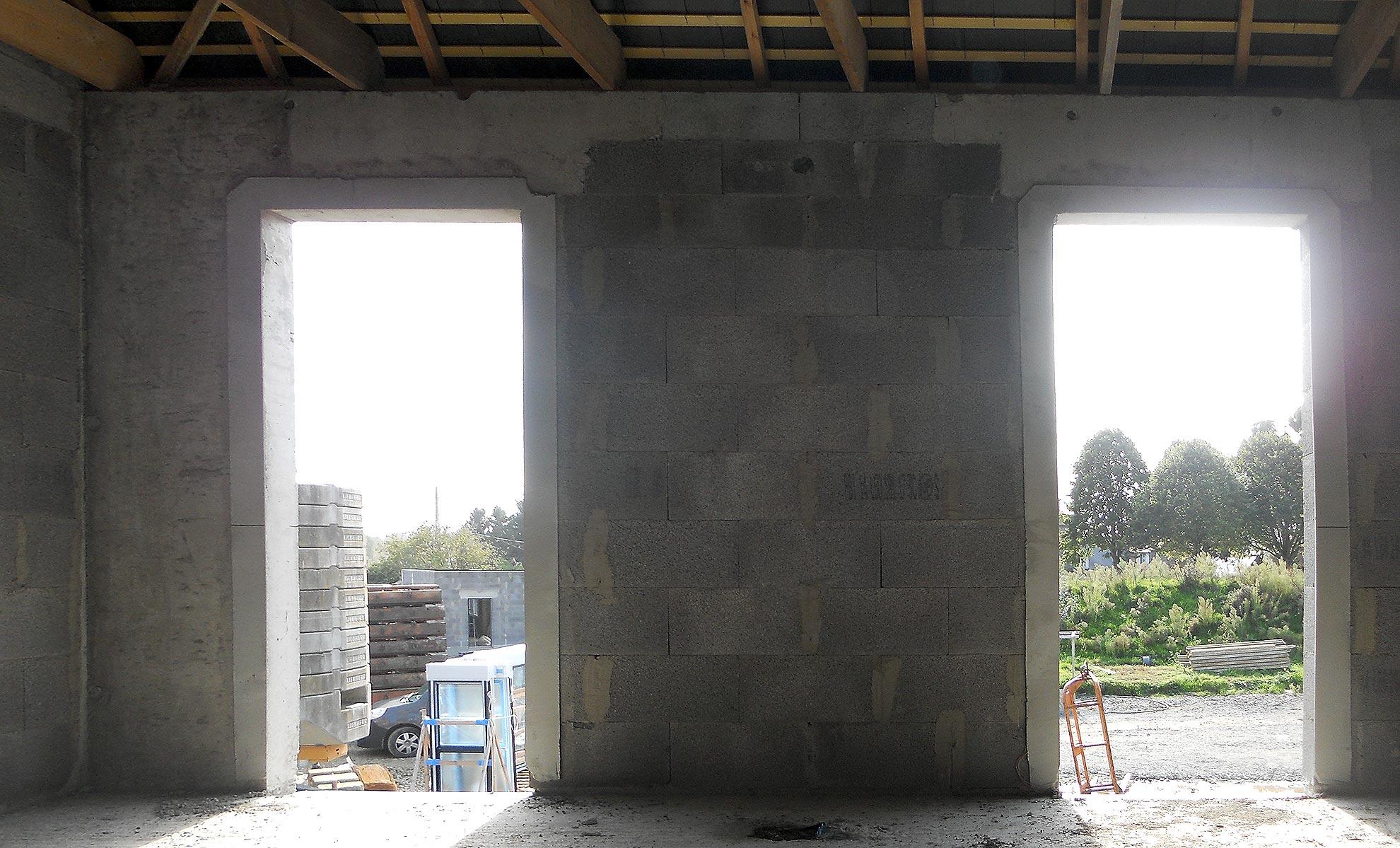 Pose de Menuiseries extérieures dans construction neuve à Saint-Malo-2