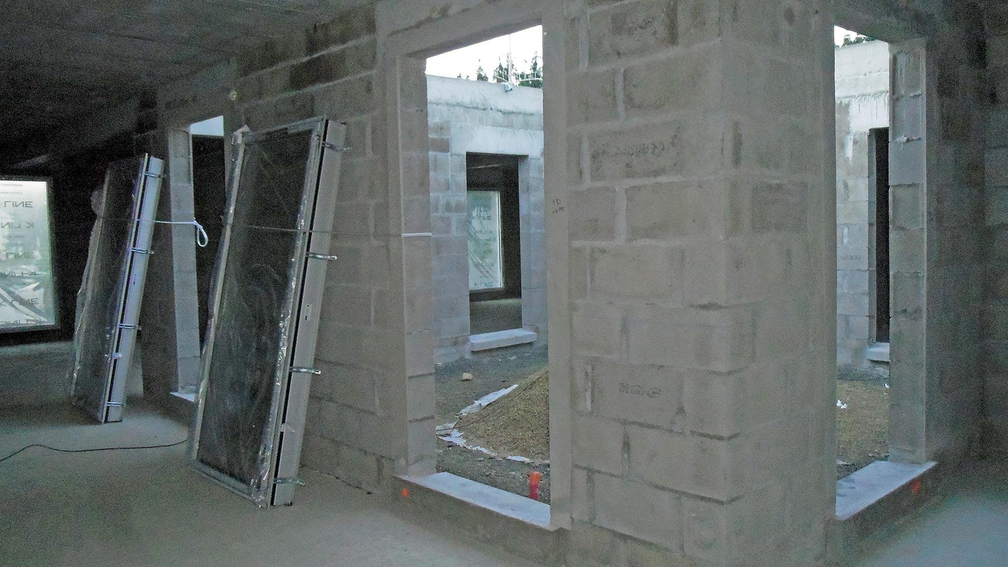 Pose de Menuiseries extérieures dans construction neuve à Saint-Malo-3
