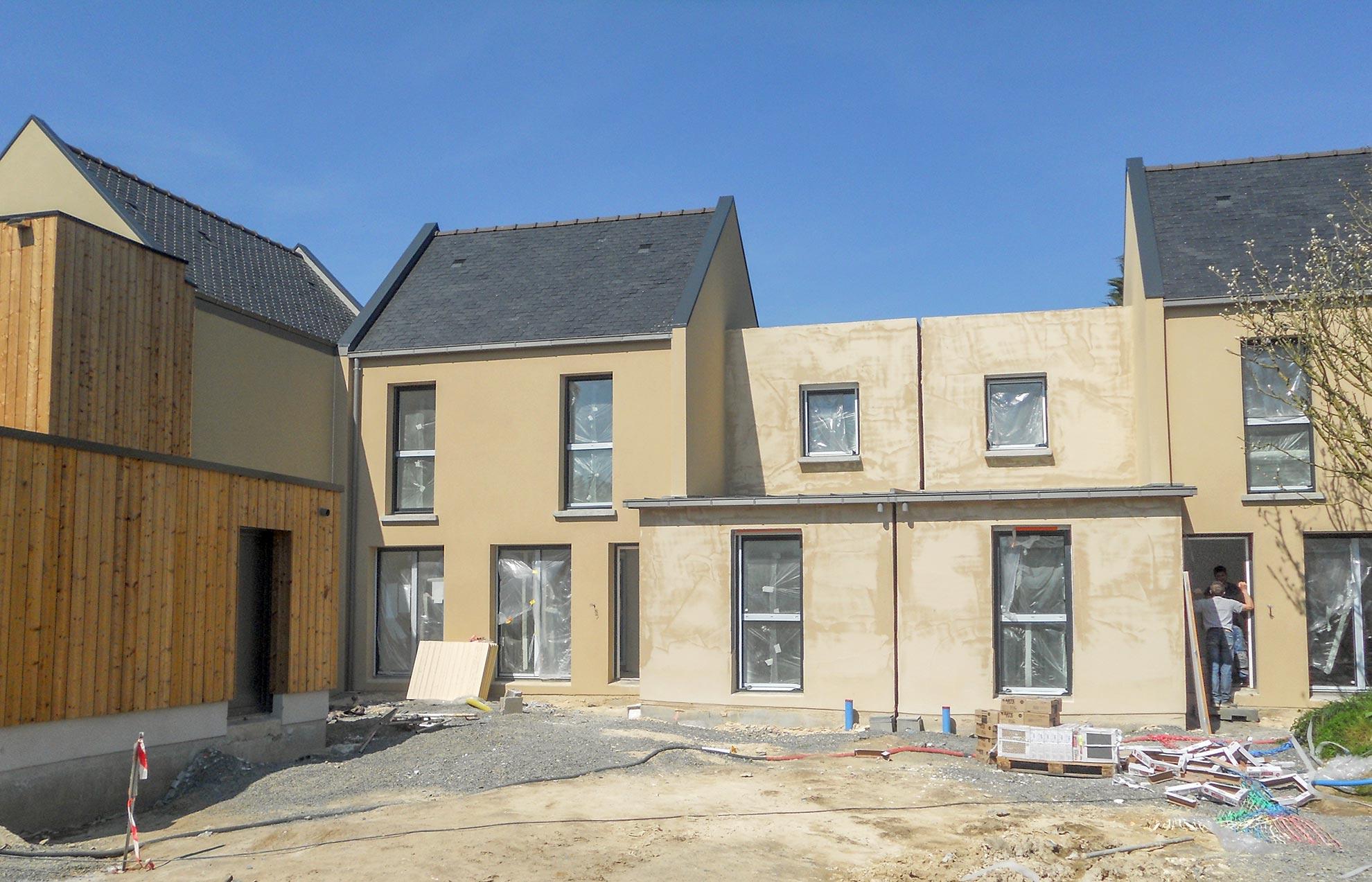 Pose de Menuiseries extérieures dans construction neuve à Saint-Malo-7